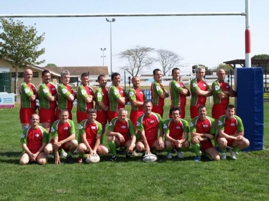 Rugby, i Barberans sfidano i campioni francesi, con la palla ovale e a tavola!