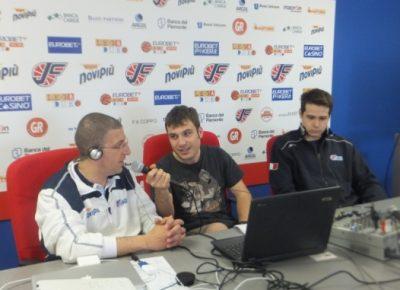 Immagine ORA IN ONDA Pick and Gold, con coach Giulio Griccioli e Niccolo' Martinoni