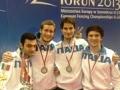 Spada: oro a squadre per il casalese Buzzi