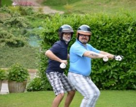 Immagine Golf e Harley, le due passioni dell'avvocato Gatti