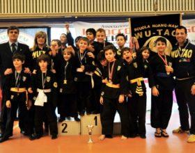Kung Fu: i giovani della Sport Center al Trofeo Babbo Natale