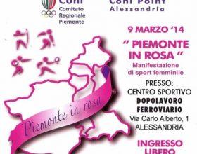 'Piemonte in rosa', l'altra meta' dello sport