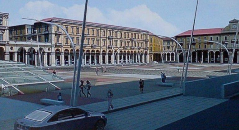 Si torna al lavoro per realizzare il parcheggio interrato di piazza  Garibaldi 032837a6fc83