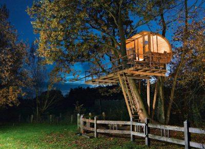 Le fiabesche case sugli alberi del piemonte - Costruire case sugli alberi ...