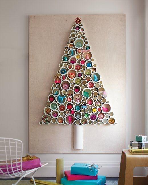 Alberi Di Natale Alternativi Fai Da Te.Quando Gli Alberi Di Natale Sono Alternativi E Facili