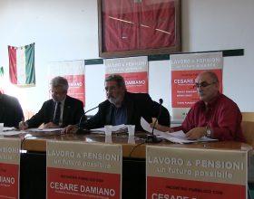 Lavoro e Pensioni: Cesare Damiano ad Alessandria