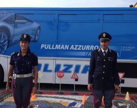 Icaro, il progetto sulla sicurezza stradale della Polizia all'Outlet di Serravalle