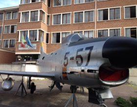 L'aereo da 40 anni simbolo del Volta di Alessandria torna a brillare