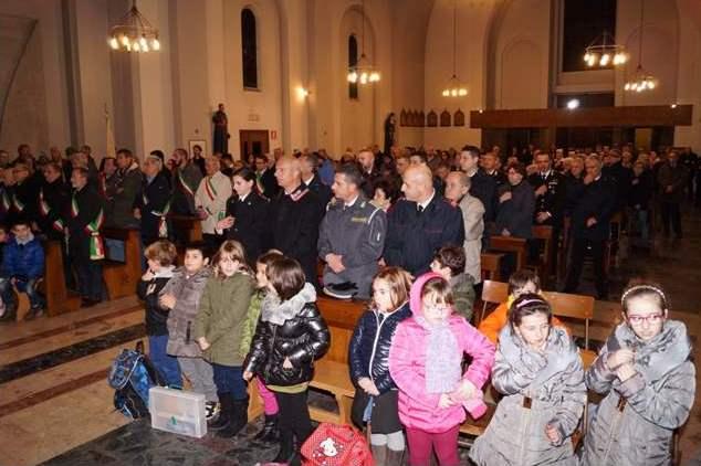 Carabinieri: lunedì messa in onore della