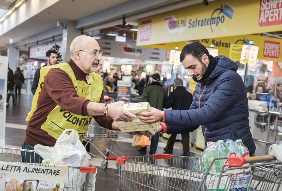 Colletta alimentare, a Piacenza raccolte oltre 59 tonnellate di cibo