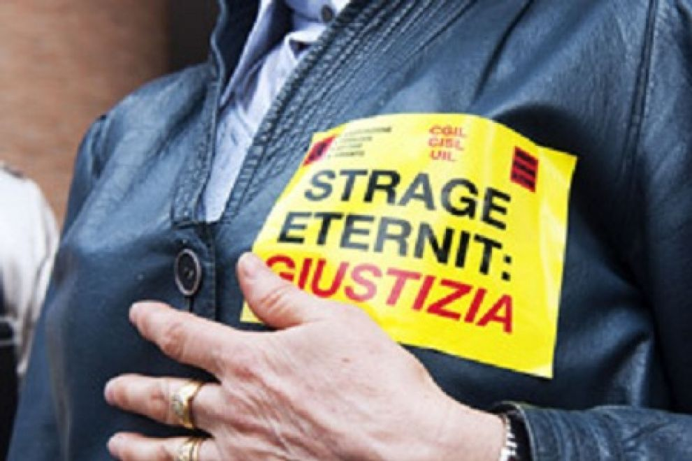 Eternit bis: cambia accusa e va in 4 tribunali