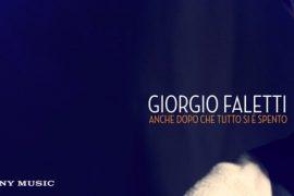"""Immagine Giorgio Faletti: """"Anche dopo che tutto si e' spento"""""""