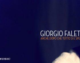 """Giorgio Faletti: """"Anche dopo che tutto si e' spento"""""""