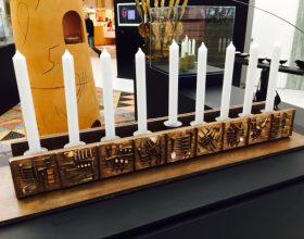 """Alla Triennale di Milano un pezzo d'arte di Casale: in mostra i """"Lumi di Chanukkah"""""""