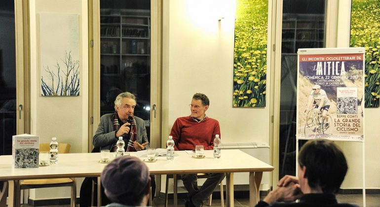 Un successo il primo incontro cicloletterario de LaMitica con Beppe Conti