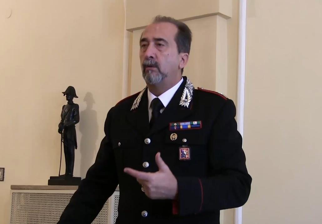 Ufficio Di Fonzo Vasto : Promosso a tenente colonnello il comandante del reparto operativo