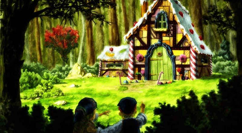 La fiaba di hansel e gretel alla casa del teatro del rimbalzo for Disegni da colorare hansel e gretel