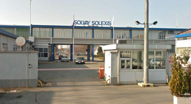 Fuoriuscita di gas alla Solvay