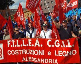 Immagine Anche i lavoratori alessandrini alla manifestazione di Bologna