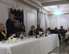 Edoardo Garrone ospite della serata Lions Alessandria Host