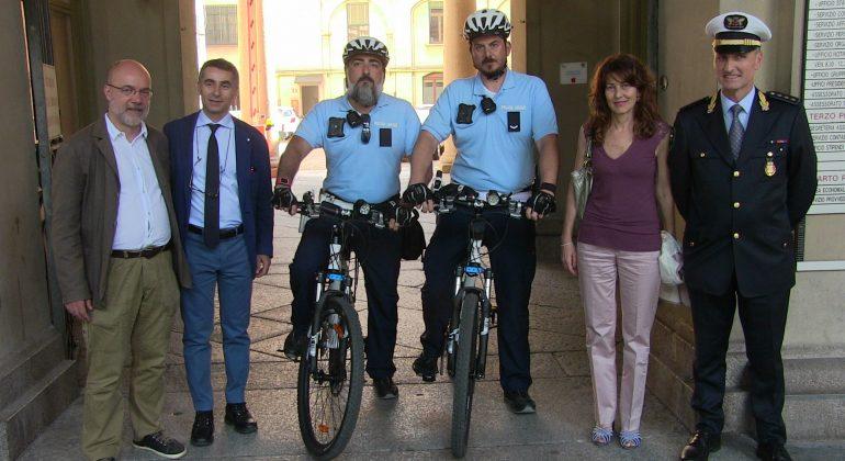 Bike Patrol: ad Alessandria i primi vigili in bici