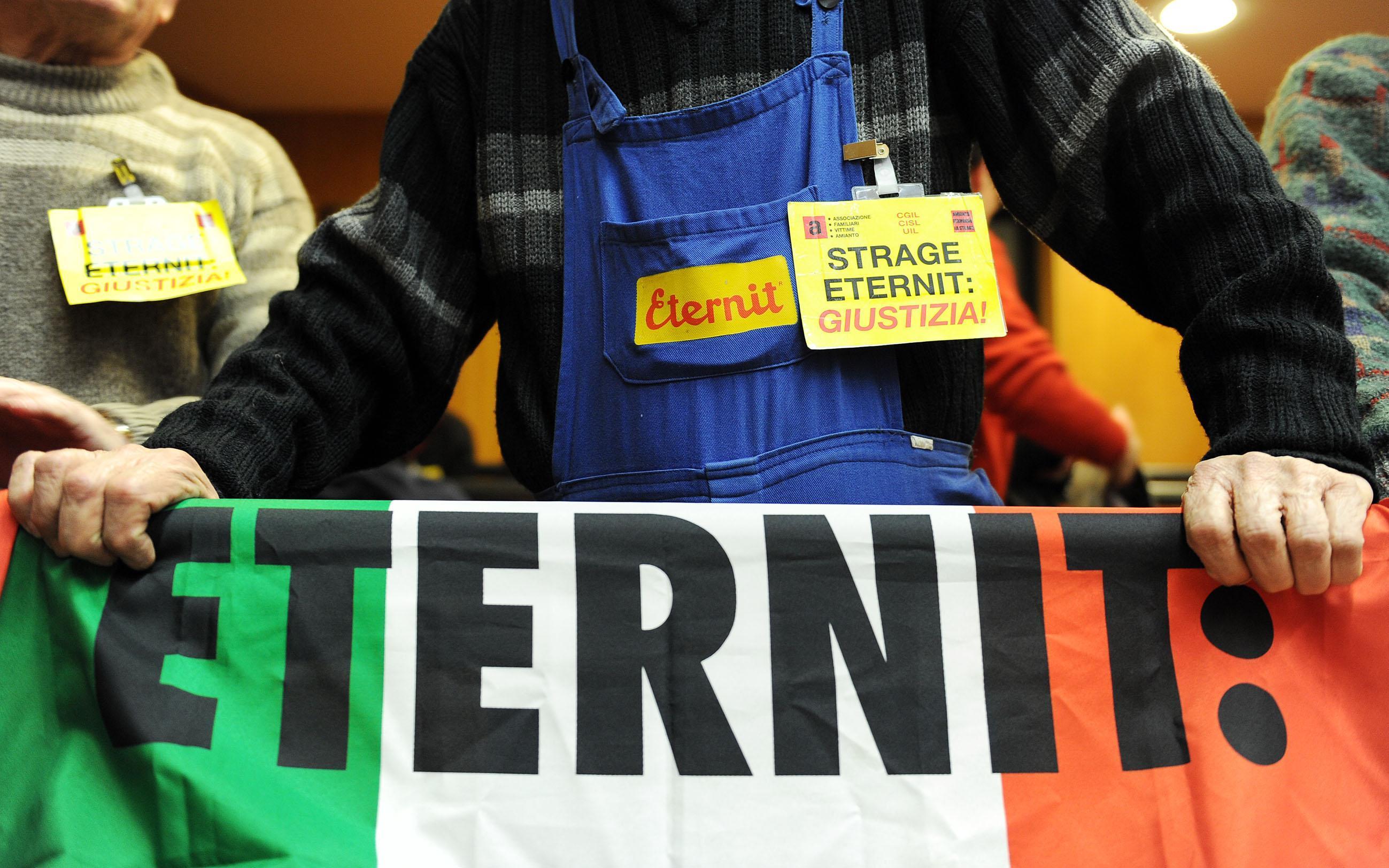 Eternit: Cassazione, i processi restano spacchettati