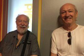 The Rokes negli studi di Radio Gold