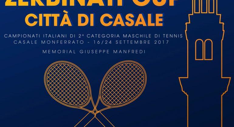 Zerbinati Cup: dal 16 settembre Casale 'capitale' del tennis italiano