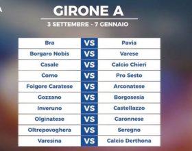 Serie D, pubblicati i calendari: il primo derby alla seconda giornata
