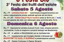 """L'estate è """"Fruttuosa"""" a Cartosio: sabato e domenica tanti eventi"""