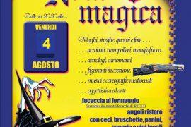 """A Carpeneto il caldo passa con i brividi della """"Notte magica"""""""