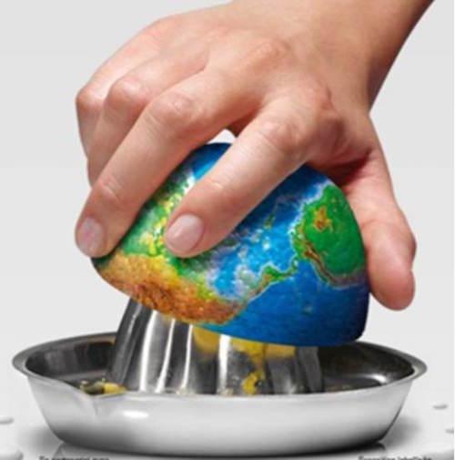 Mercoledì le risorse naturali della terra saranno finite