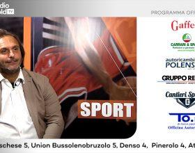 Serie D e Eccellenza: su Radio Gold Tv mister Alberto Merlo