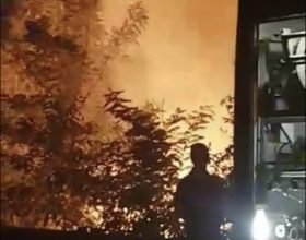 Immagine Incendio in via Pavia ad Alessandria