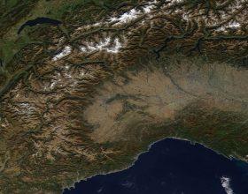Immagine Le foto dallo spazio del Piemonte dal 2007 al 2017