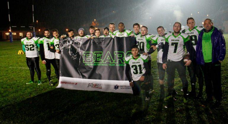 Football Americano: Bears Alessandria piegati dagli esperti Commandos