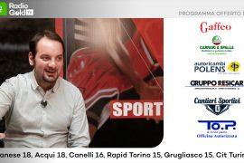 Promozione: su Radio Gold Tv il team manager Marco Marramao