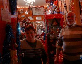 """La casa di Natale """"wow"""" di Vera e Marco"""