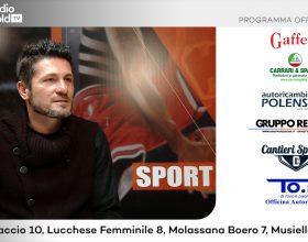 Promozione: su Radio Gold Tv il portiere Francesco Teti