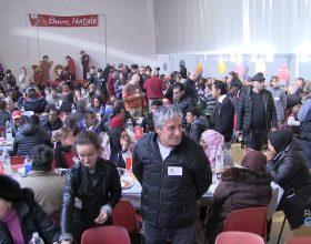 Il pranzo di Natale dimostra il grande cuore di Alessandria