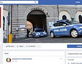 La Questura di Alessandria approda su Facebook