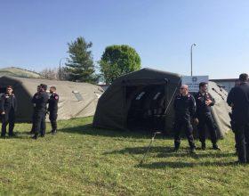 Ad Acqui Carabinieri simulano esondazione del fiume Bormida