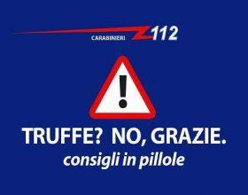 """Truffe online. I consigli dei Carabinieri: """"Diffidate da guadagni facili"""""""