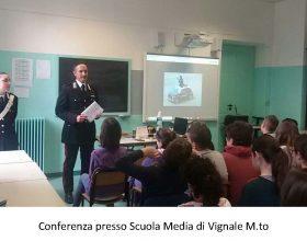 """Carabinieri nelle scuole per formare """"la cultura della legalità"""""""