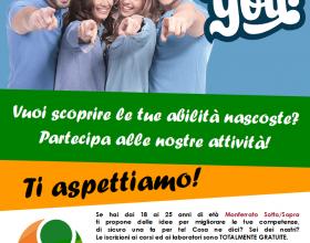 """Per i giovani tra i 18 e i 25 anni il """"Monferrato è sottosopra"""""""