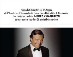 I 20 anni della clinica Città di Alessandria celebrati con Chiambretti