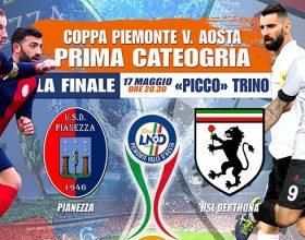 Derthona: stasera la finale di Coppa. Domenica spareggio a Castellazzo