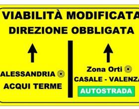 Modifiche alla viabilità sulla SP10 per lavori