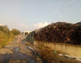 """Incendi discarica Castelceriolo: """"Poco probabile l'autocombustione"""""""