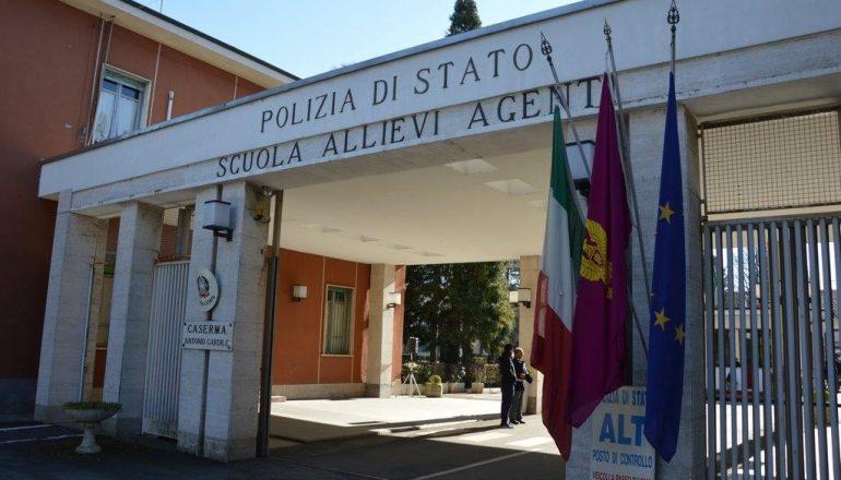 polizia scuola allievi agenti alessandria